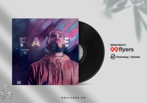 Mix Free CD Cover Mixtape PSD Artwork