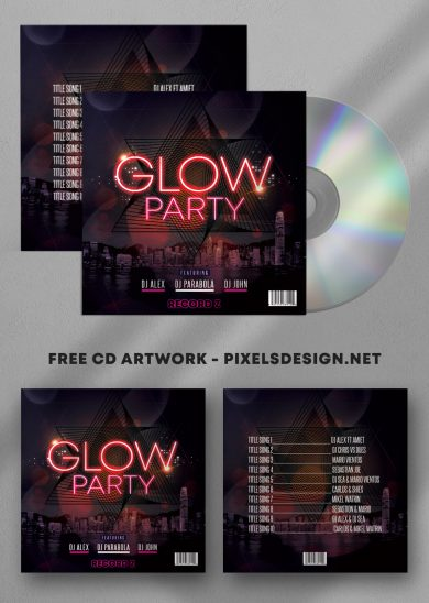 Mix Free Mixtape Album PSD Template