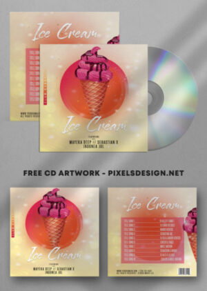 Mixtape Free CD Artwork PSD Template