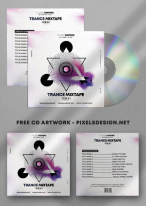 Music Mixtape Album PSD Template