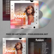 Tayana Music Free Mixtape PSD Cover Artwork