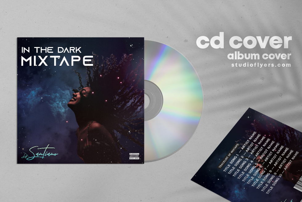Dj Mixtape Cd Cover Album Free PSD