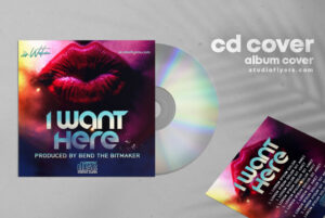 Dj Mixes CD Artwork Free PSD Template
