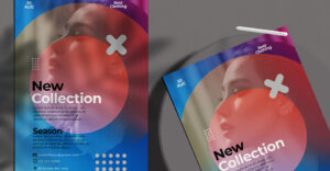 Fashion Collection Flyer Free PSD Template