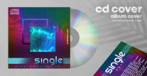Artist Cover CD Artwork Free PSD Template