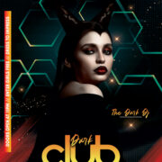 Club Night Party Flyer Free PSD Template