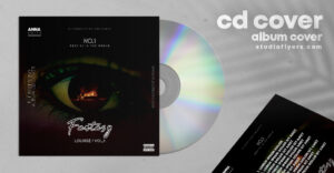 Dj Album Cover Free PSD Template