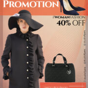 Promotion Woman Fashion Flyer Free PSD Template