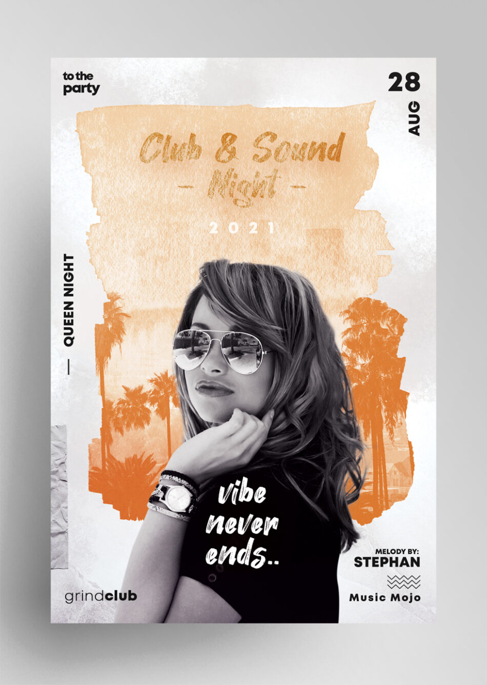 Sound Vibe Free Flyer Template
