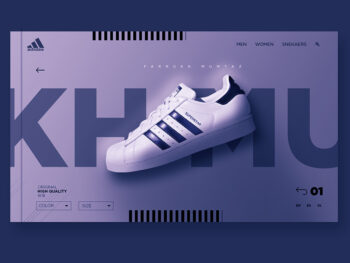 Adidas Shoes Free PSD Mockup Template