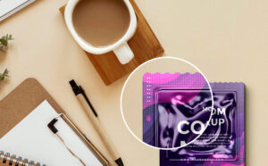 Condom Package Mockup Free PSD Template